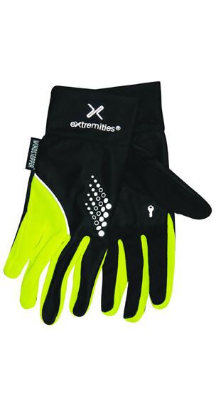 Extremities Elite Run Glove Black/Yellow